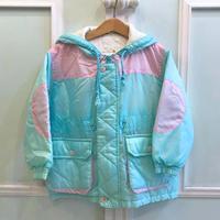 381.【USED】Ice Blue Nylon Jacket