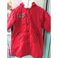 115.【USED】Dancing rat Batting long jacket