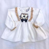 797.【USED】Tiger cat  Suspender Dress