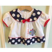 159.【USED】Marine Sailor Dress
