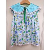 145.【USED】Formal Balloon& Kids Print Dress