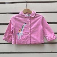 304.【USED】Vintage  Pink Giraffe  Jacket