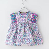 retro embroidery dress