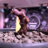 pelargonium  mirabile《S size》※今後輸入が厳しいアフリカ物‼︎誰もが愛おしく堪らないと感じる冬型の人気者※mad black bowl pot植えNo.②