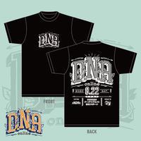 2020.8.22 『D.N.A -online-』Tシャツ(Black)