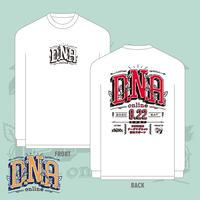 2020.8.22 『D.N.A -online-』ロングスリーブTシャツ(White)