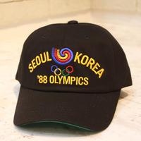 SEOUL OLYMPIC CAP 2 BLACK