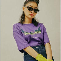FEVERTIME RETRO TEE PURPLE