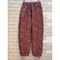 PAISLEY NYLON PANTS