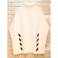 L/S TURTLE NECK >>>> TEE WHITE