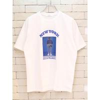 S/S NEW YORK TEE WHITE