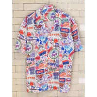 S/S NEON LAMP SHIRTS WHITE