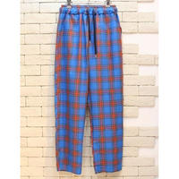 CHECK E-Z PANTS  BLUE×RED