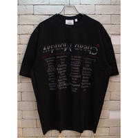 CHEAP MONDAY SPECTER TEE CHEAP TOUR BLACK