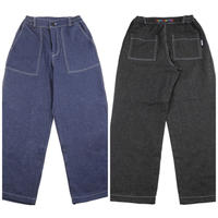 BASIC COTTON DENIM PANTS