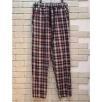 CHECK E-Z PANTS  SAX×WINE