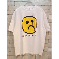 CHEAP MONDAY SPECTER TEE NO FUN WHITE