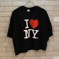 l♥︎NY ORIGINAL REMAKE TEE BLACK