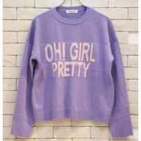 OH! GIRL KNIT LAVENDER