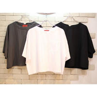 S/S CROPPED TEE