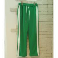 SIDE LINE TRAINING PANTS GREEN×WHITE