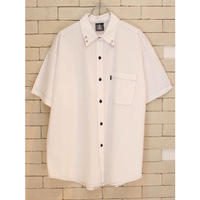 S/S STITCH RING SHIRTS WHITE