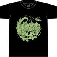 labo 16th Anniversary!! Tシャツ(black/デカ)