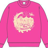 labo 16th Anniversary!! トレーナー(ピンク)