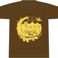 labo 16th Anniversary!! Tシャツ(brown)