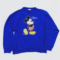 80s ミッキーマウス ビンテージ スエット L