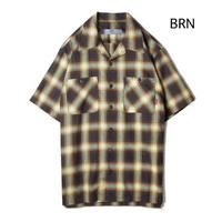2019春夏予約開始!5%0FF BLUCO / WORK SHIRTS S/S -ombre check-(全3色)OL108CO
