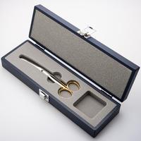 臍帯剪刀ケースセット Wooden Case and Scissors for Omphalotomy
