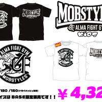 MOBSTYLES✖️ALMA FIGHT GYM コラボキッズTシャツ