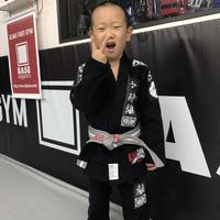 ALMA柔術着 SLANG KO×BRAHMAN TOSHI-LOW design『守破離』model  Kidsサイズ
