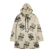 LIVING LEGEND. TOKYO × SMACK ENGINEER Collaboration Long Parka BEIGE