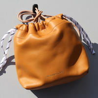 "BOWL BAG""camel"""