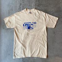 1980s Hanes BEEFY Printed Tee