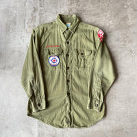 1960s BOY SCOUTS OF AMERICA Cotton Shirts