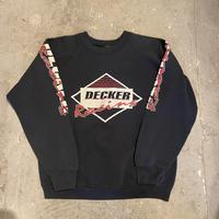 80s-90s Fruit Of The Loom Decker Racing Raglan Sweat