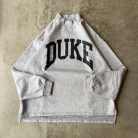 90s The Cotton Exchange DUKE University Mock-neck Sweat