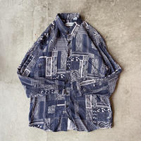 UNKNOWN Paisley Rayon Shirts