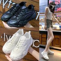 メッシュ スニーカー レースアップ 通気性 韓国ファッション レディース ダットスニーカー ダッドシューズ スポーツ 歩きやすい カジュアル 623483368883