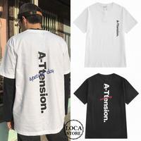 ユニセックス メンズ/レディース Tシャツ 半袖 ストリート系  ルーズ ペア 大きいサイズ 韓国ファッション (DCT-576701186343)