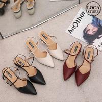 パンプス アンクルストラップ ヒール4cm 韓国ファッション レディース ストラップ サンダル キュート 痛くない かわいい 靴 歩きやすい 590413836235