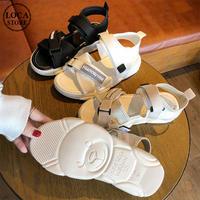 レディース スポーツサンダル スポサン ソールがクマ 厚底 サンダル 可愛い 歩きやすい インスタ映え 韓国ファッション (DCT-594739745115)