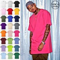 選べる24カラー BIGサイズ Tシャツ 半袖 メンズ レディース ユニセックス ラウンドネック 無地 オーバーサイズ 大きいサイズ ルーズ ストリート TBN-526314410162