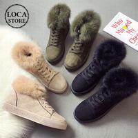 レディース ベルベット ファースニーカー ファー ファーシューズ 暖かい 防寒 秋冬 もこもこ 歩きやすい 痛くない 可愛い 韓国 韓国ファッション (DTC-561186882791)