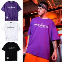 ユニセックス Tシャツ 半袖 メンズ レディース ラウンドネック 英字 プリント タグ オーバーサイズ 大きいサイズ ルーズ ストリート TBN-567828028105