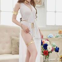 シースルー ロングドレス