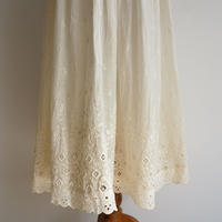Antique Handmade Embroidered Skirt